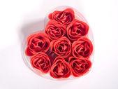 Rose In Heart Shape 2 — Stock Photo