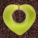 Love of coffee — Stock Photo