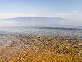 Clear water of Baikal — Stock Photo