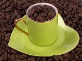 Love of coffee 2 — Stock Photo