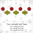 Christmas card 3 - Stock Vector