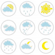 Weather Icons — Stock Vector #2580497