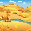 Autumn Landscape — Stock Vector #2132970