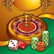 Casino illustration - Stock Vector