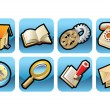 Royalty-Free Stock ベクターイメージ: Icons for website