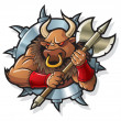 Myths: Minotaur - Stock Vector