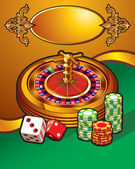 Casino illustration — Stock Vector