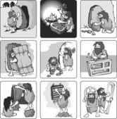 Evolution — Stockvektor