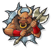 Myths: Minotaur — Stock Vector
