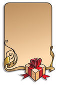 Valentine's Day holiday frame — Stock Vector