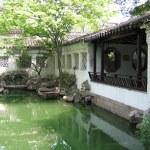 The Lingering Garden (LiuYuan) in Suzhou — Stock Photo