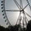 Big dipper (joy-wheel) in Harbin — Stock Photo