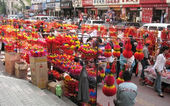 Traditional chinese bazaar — Stock Photo