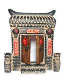 Chinese gates — Stock Photo