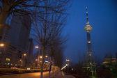 Dragon Tower in Harbin at night — Stock Photo