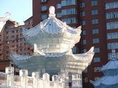 Ice palace — Stock Photo