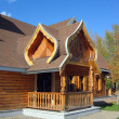 Russian wooden architecture - Stock Photo