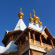 Stock Photo: Russigolden domes