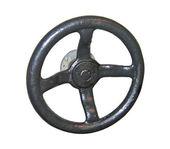 Isolated valve wheel — Stock Photo