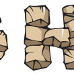 Stone alphabet: GHI — Stock Vector #2554193