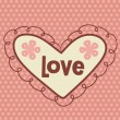 Royalty-Free Stock Vector Image: Valentine\'s day card design