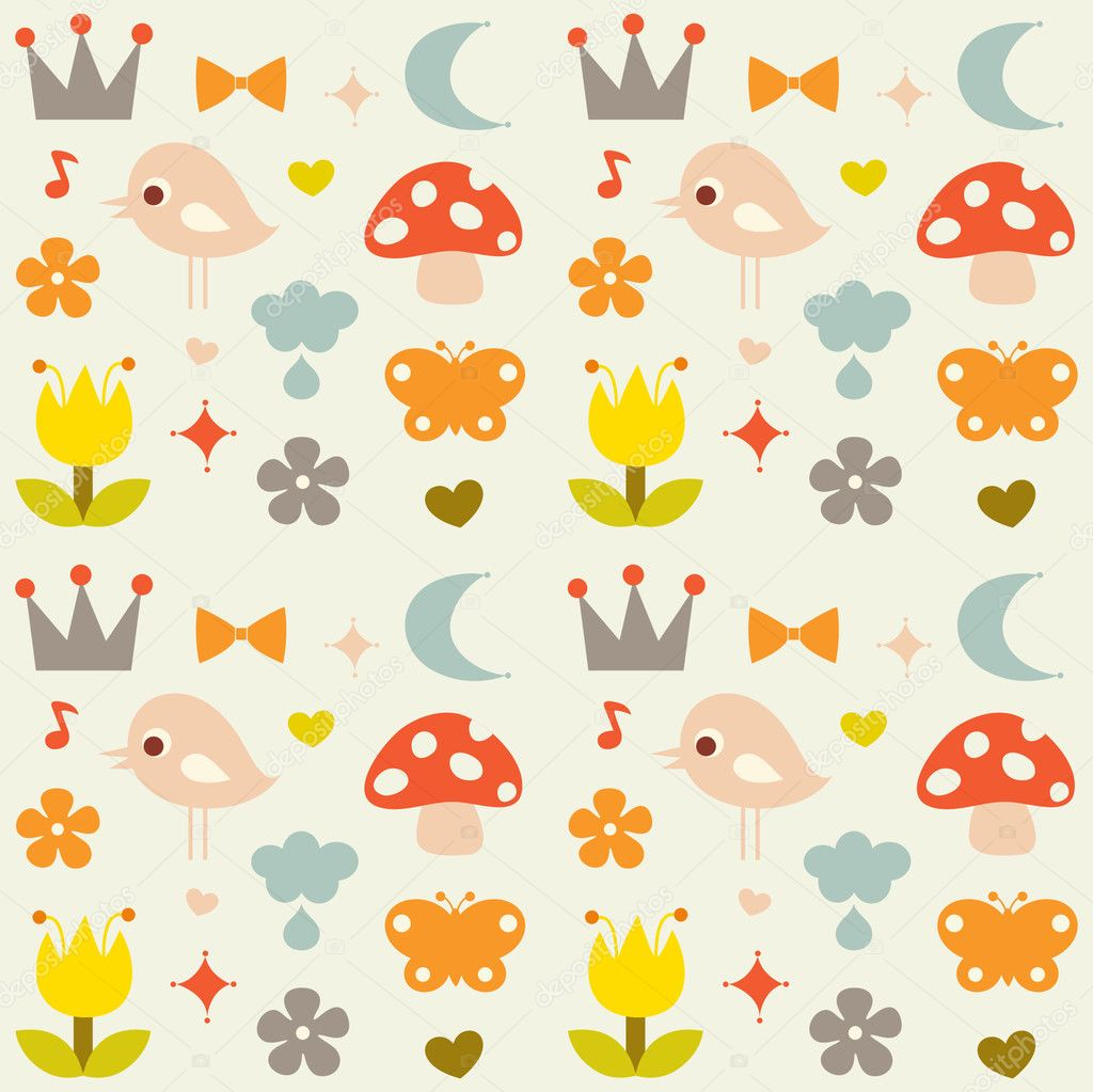  vector cute background  Stock Vector #2129131