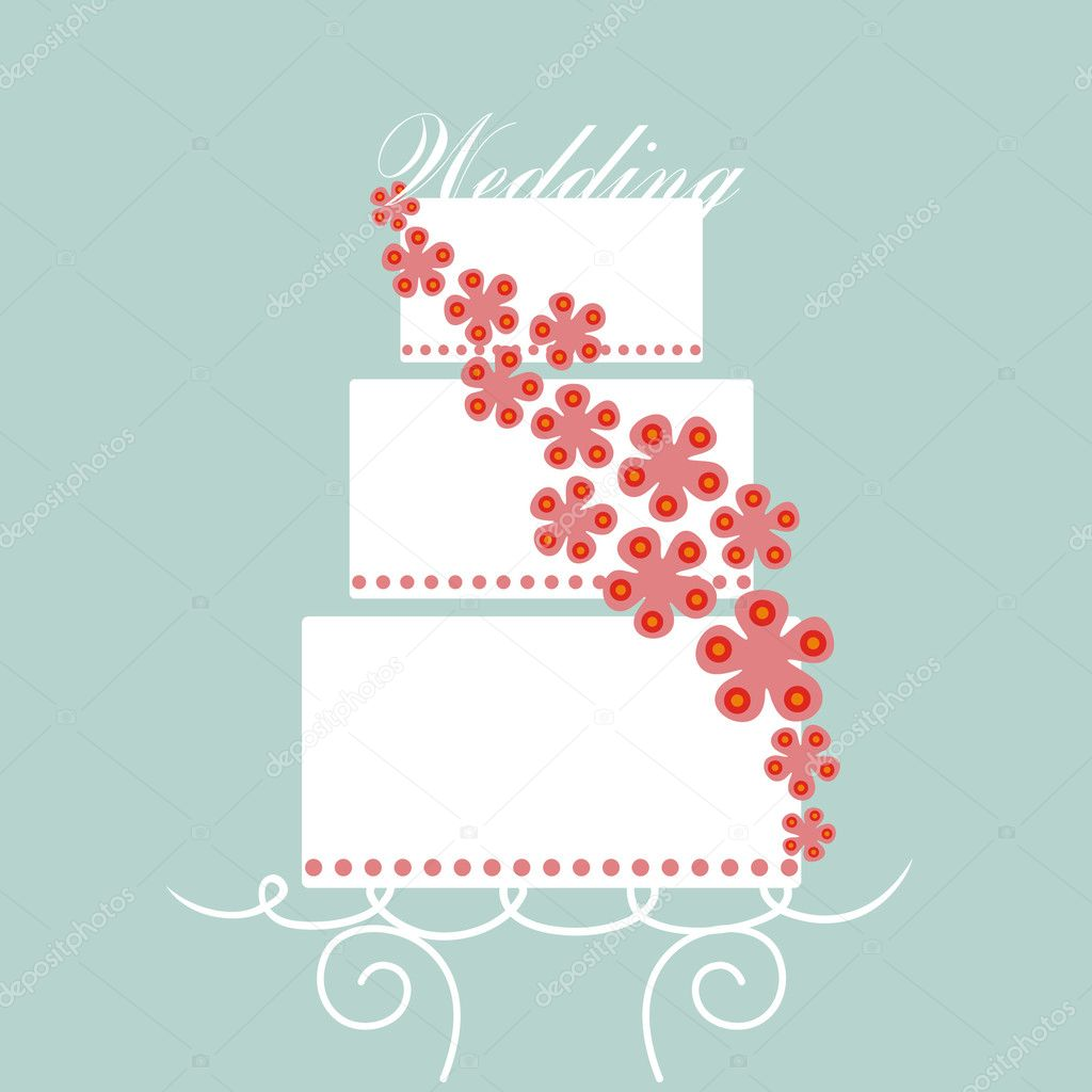  vector wedding card  Stock Vector #2131122