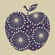 Vector apple design — Image vectorielle