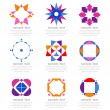 Set of graphic elements - Stock Vector