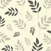 Vector leaf background design — Stock Vector