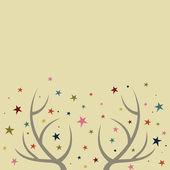 Kartka świąteczna projektu — Wektor stockowy