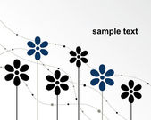 Illustration vectorielle de fleur — Vecteur