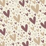 Hearts background vector — Stock Photo #2363622