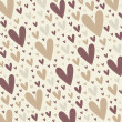 Hearts background vector — Stock Photo