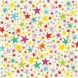 Vector star background card — Stock Photo