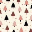 Vector christmas tree background design — Stock Photo