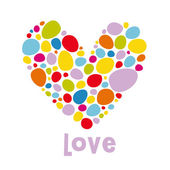 Love card design — Stock Photo