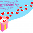 Valentine card — Stockvector #2096987
