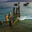 Fishing dock — Stock Photo