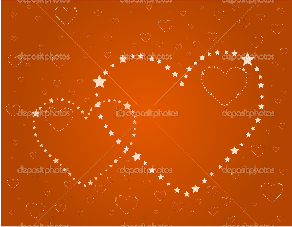 Heart of stars  Stock Vector #2140539