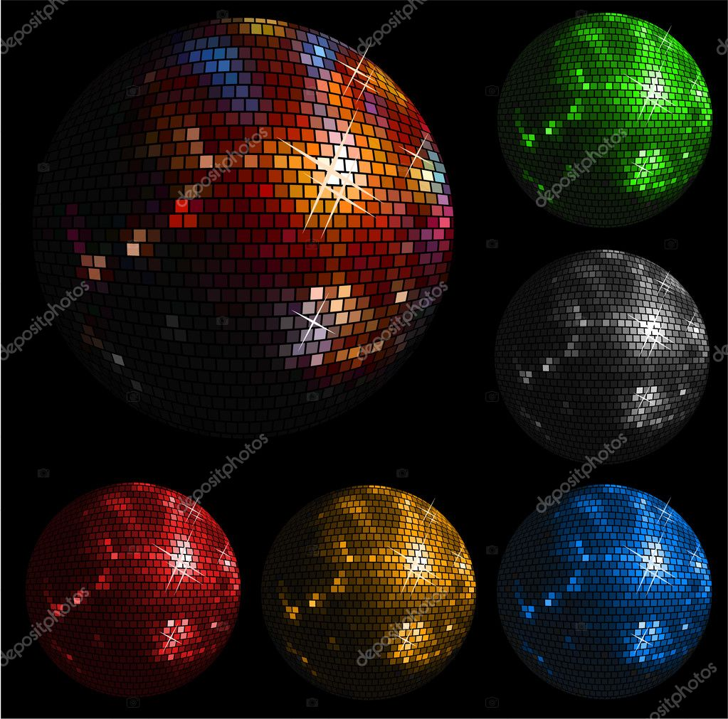 Shiny disco ball — Stock Vector #2164770