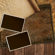 Royalty-Free Stock Photo: Vintage paper and photo frames