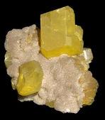 Natural sulphur — Stock Photo