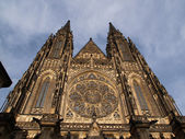 St. Vit cathedral, Prague castle — Stock Photo