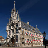 Townhall of gouda, Netherlands — Stock Photo