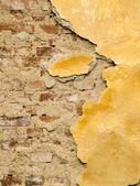 Damaged plaster — Stock Photo
