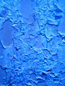 Blue metal plate texture — Stock Photo