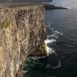 Stock Photo: Cliffs on inishmore, Ireland