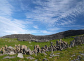 Dub Dubcchatair fort, Inishmore, Ireland — Stock Photo