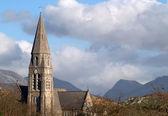 Clifden church, Ireland — Stock Photo